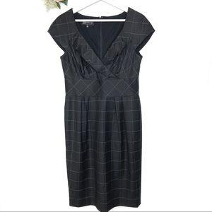 Jones New York Windowpane Dress Women's Size 8